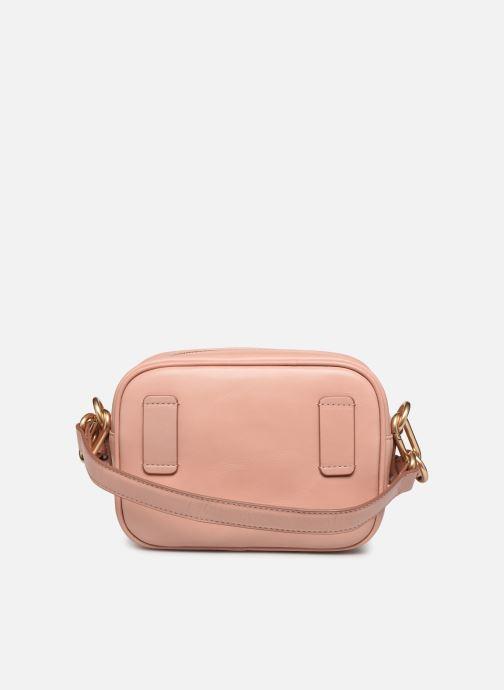 Bolsos de mano Vanessa Bruno HOLLY BODY BAG Rosa vista de frente