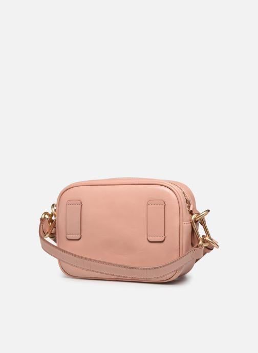 Handtassen Vanessa Bruno HOLLY BODY BAG Roze rechts