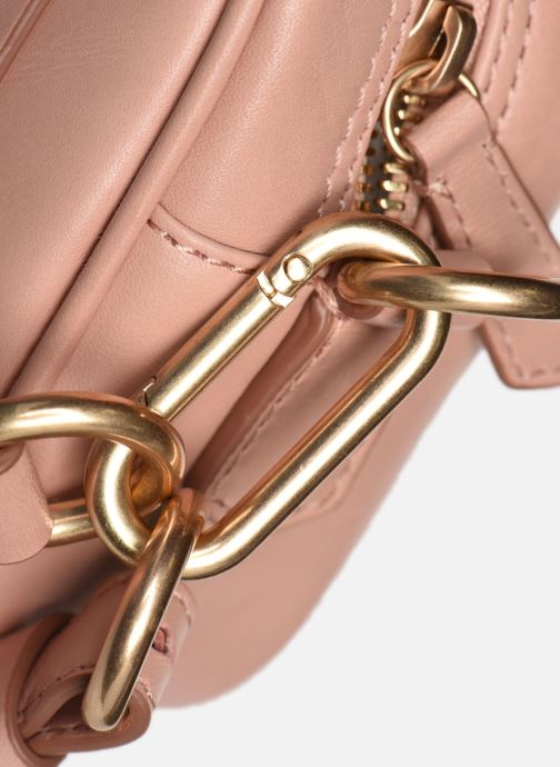 Bolsos de mano Vanessa Bruno HOLLY BODY BAG Rosa vista lateral izquierda