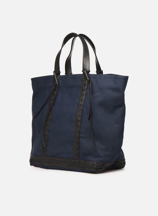 Handtassen Vanessa Bruno CABAS TRESSE Blauw model