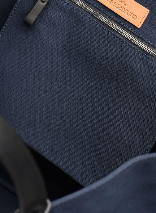 Handtassen Vanessa Bruno CABAS TRESSE Blauw achterkant