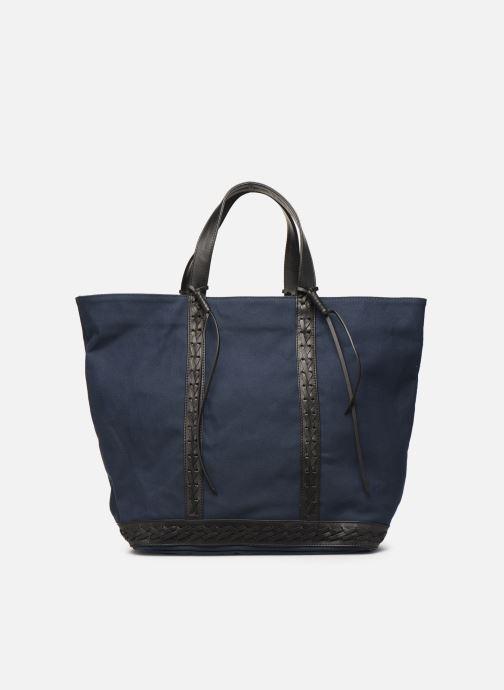 Handtassen Vanessa Bruno CABAS TRESSE Blauw detail