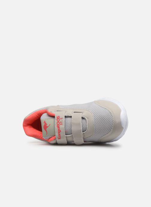 Sneaker Kangaroos Emi grau ansicht von links