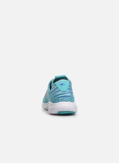 Sneaker Kangaroos K-V I blau ansicht von rechts