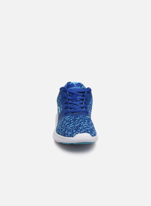 Baskets Kangaroos K-V II Bleu vue portées chaussures