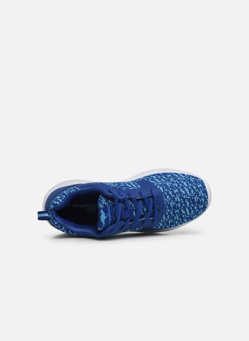 Trainers Kangaroos K-V II Blue view from the left