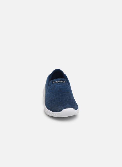 Sneaker Kangaroos KaBoo 9000 blau schuhe getragen