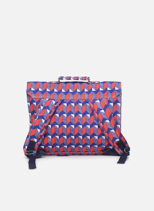 School bags Bakker Made With Love CARTABLE BIG CANVAS 37*8*30CM Red front view