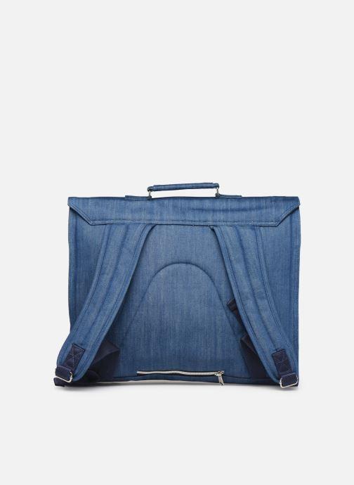 Schulzubehör Bakker Made With Love CARTABLE GRANDE CLASSE JEAN 40*10*35CM blau ansicht von vorne