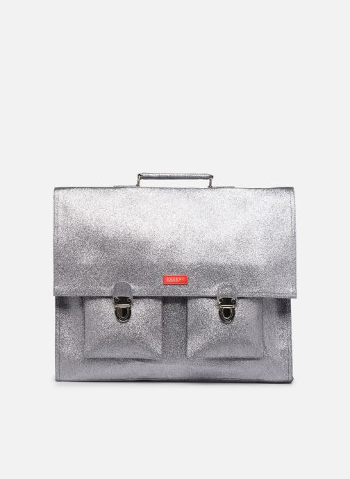 School bags Bakker Made With Love CARTABLE GRANDE CLASSE GLITTER 40*10*35CM Silver detailed view/ Pair view