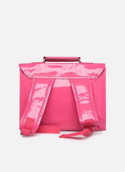 School bags Bakker Made With Love CARTABLE MINI BRETELLES 28*7*22CM Pink front view