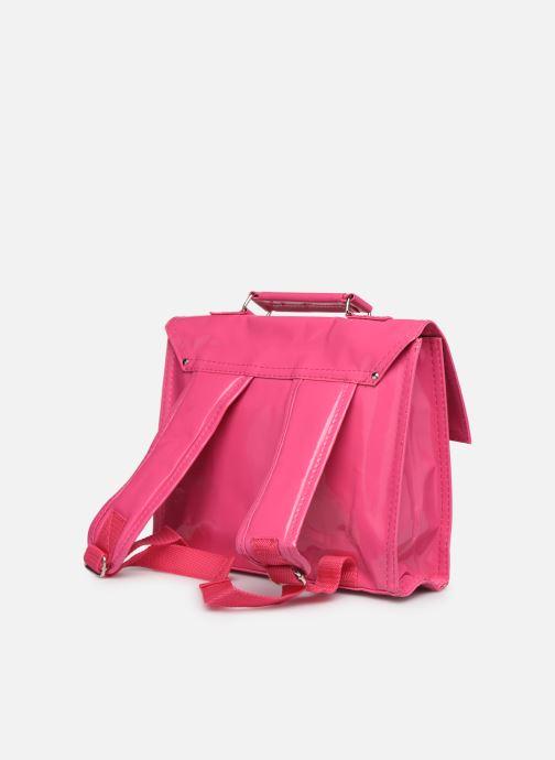 Schooltassen Bakker Made With Love CARTABLE MINI BRETELLES 28*7*22CM Roze rechts