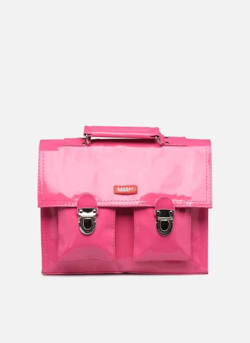 School bags Bakker Made With Love CARTABLE MINI BRETELLES 28*7*22CM Pink detailed view/ Pair view