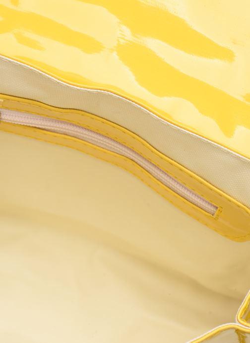 Schooltassen Bakker Made With Love CARTABLE MINI BRETELLES 28*7*22CM Geel achterkant