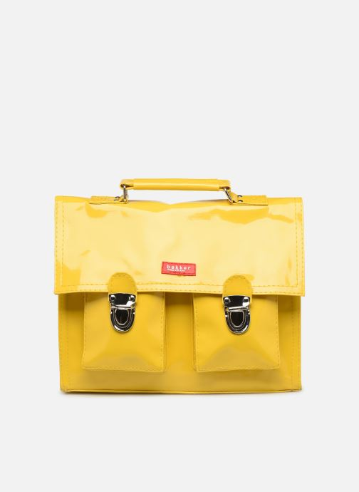 School bags Bakker Made With Love CARTABLE MINI BRETELLES 28*7*22CM Yellow detailed view/ Pair view
