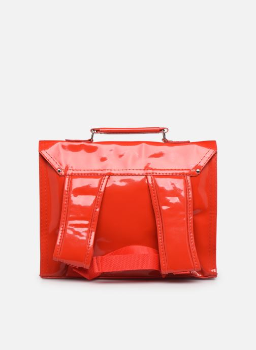 Scolaire Bakker Made With Love CARTABLE MINI BRETELLES 28*7*22CM Rouge vue face