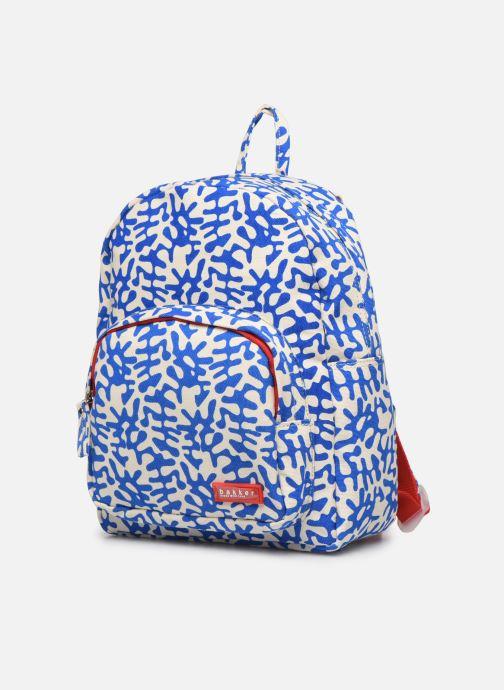 Skoletasker Bakker Made With Love BACKPACK MINI CANVAS CAPSULE 27*7*21CM Blå se skoene på