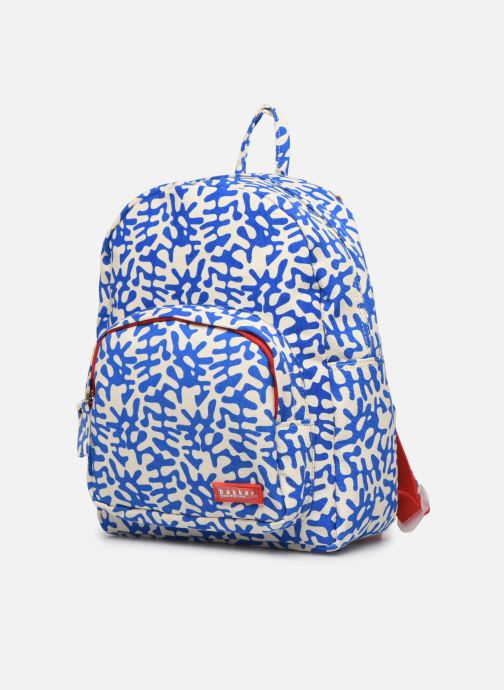 School bags Bakker Made With Love BACKPACK MINI CANVAS CAPSULE 27*7*21CM Blue model view