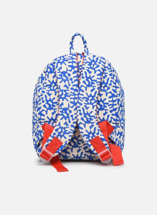 School bags Bakker Made With Love BACKPACK MINI CANVAS CAPSULE 27*7*21CM Blue front view