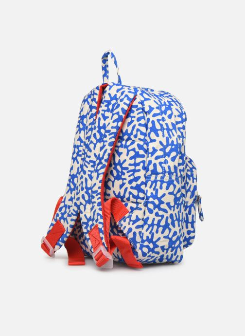 School bags Bakker Made With Love BACKPACK MINI CANVAS CAPSULE 27*7*21CM Blue view from the right