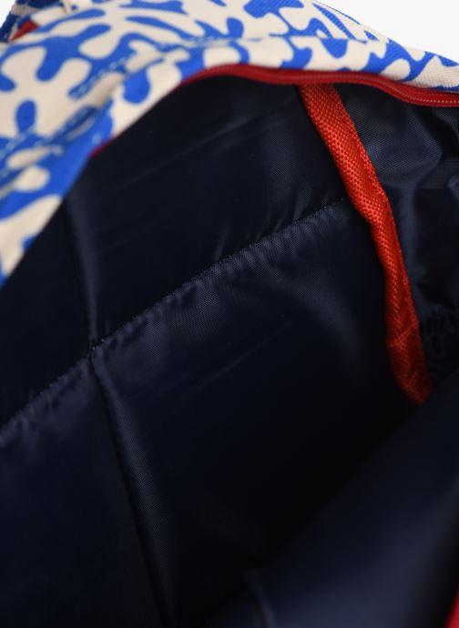 Skoletasker Bakker Made With Love BACKPACK MINI CANVAS CAPSULE 27*7*21CM Blå se bagfra