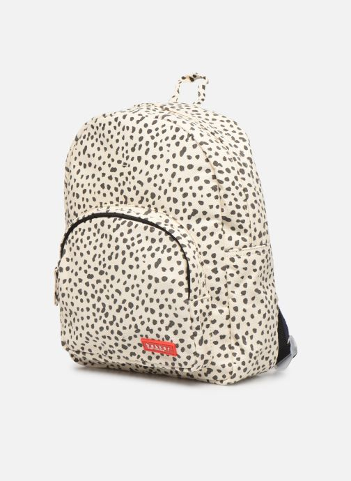 Scolaire Bakker Made With Love BACKPACK MINI CANVAS CAPSULE 27*7*21CM Noir vue portées chaussures