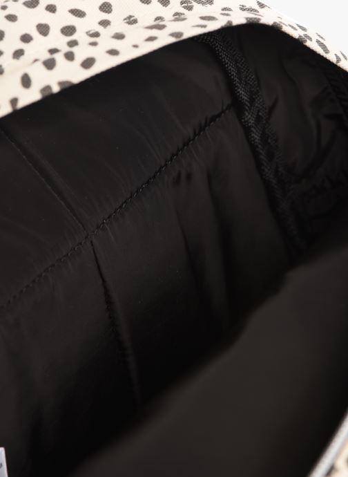 Schooltassen Bakker Made With Love BACKPACK MINI CANVAS CAPSULE 27*7*21CM Zwart achterkant