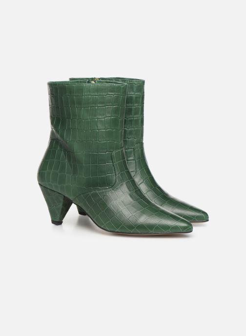 Bottines et boots Essentiel Antwerp Toxicwaste Vert vue 3/4
