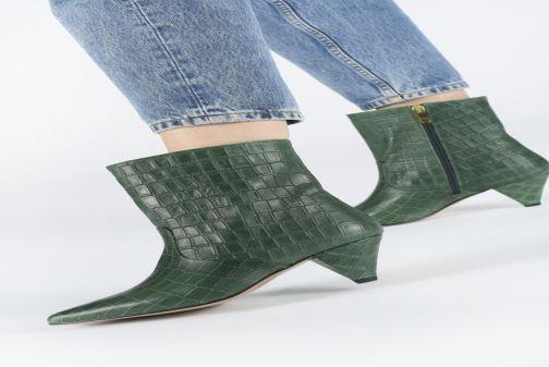 Stiefeletten & Boots Essentiel Antwerp Toxicwaste grün ansicht von unten / tasche getragen