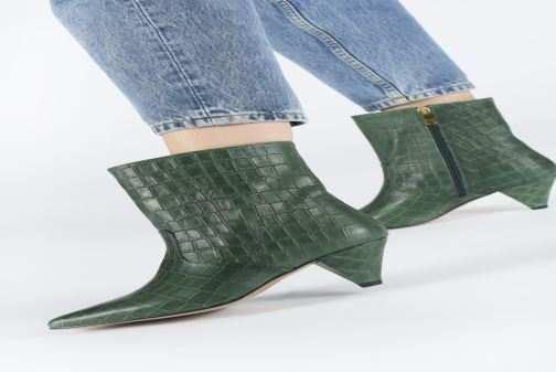 Bottines et boots Essentiel Antwerp Toxicwaste Vert vue bas / vue portée sac