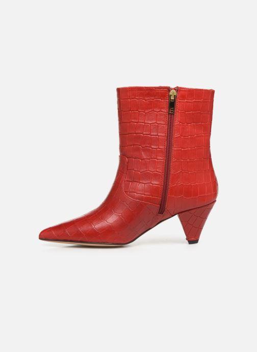 Bottines et boots Essentiel Antwerp Trimetal Rouge vue face