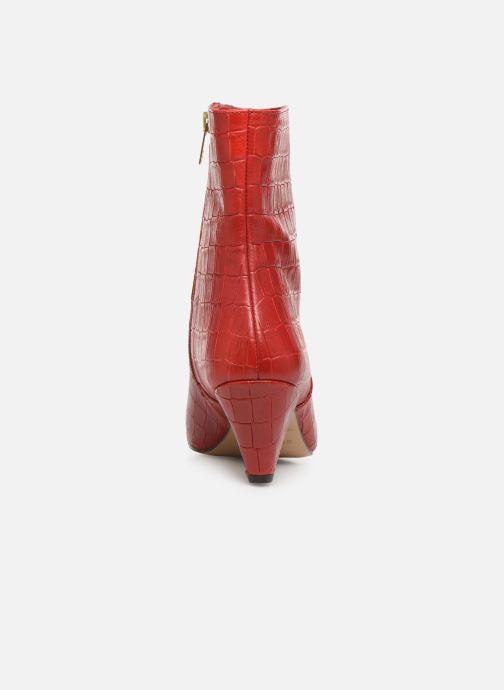 Bottines et boots Essentiel Antwerp Trimetal Rouge vue droite