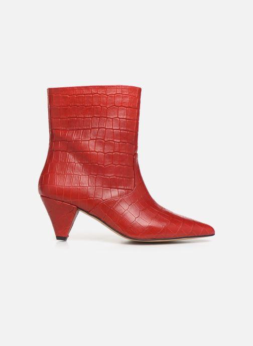 Bottines et boots Essentiel Antwerp Trimetal Rouge vue derrière