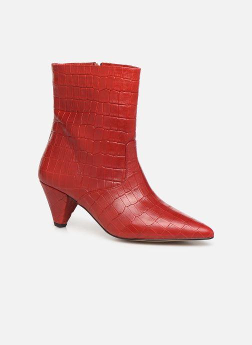 Bottines et boots Essentiel Antwerp Trimetal Rouge vue détail/paire