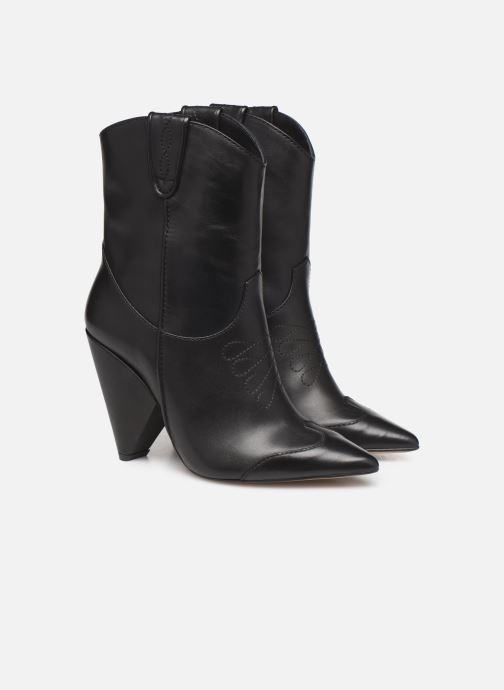 Ankle boots Essentiel Antwerp Trustem Black 3/4 view