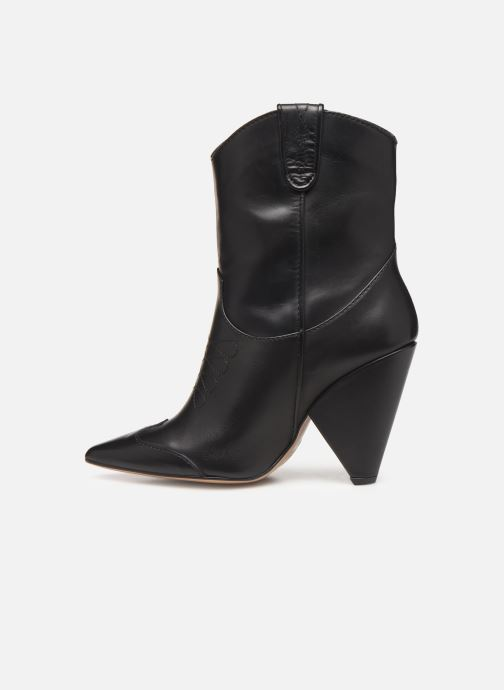 Ankle boots Essentiel Antwerp Trustem Black front view