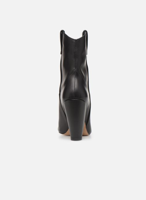 Boots en enkellaarsjes Essentiel Antwerp Trustem Zwart rechts