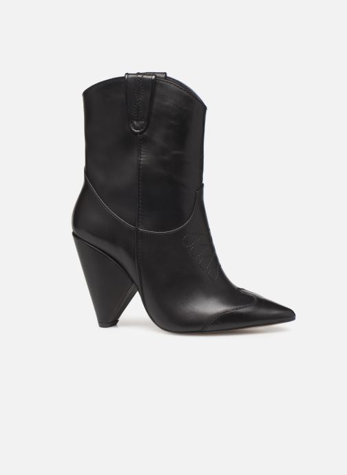 Ankle boots Essentiel Antwerp Trustem Black back view