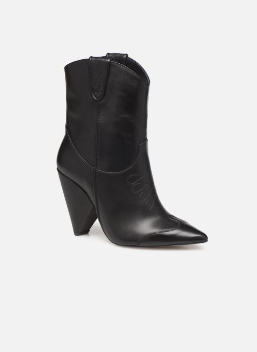 Ankle boots Essentiel Antwerp Trustem Black detailed view/ Pair view