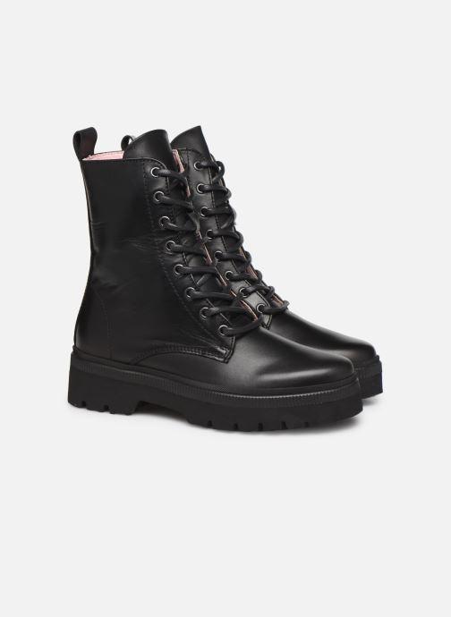 Bottines et boots Essentiel Antwerp Teneral Noir vue 3/4