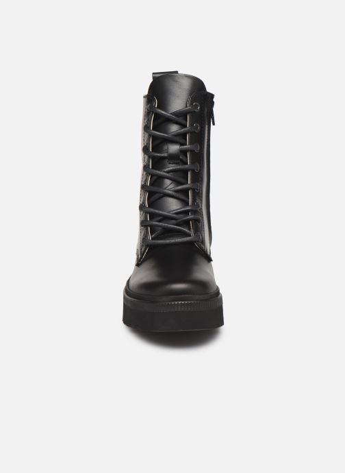 Bottines et boots Essentiel Antwerp Teneral Noir vue portées chaussures