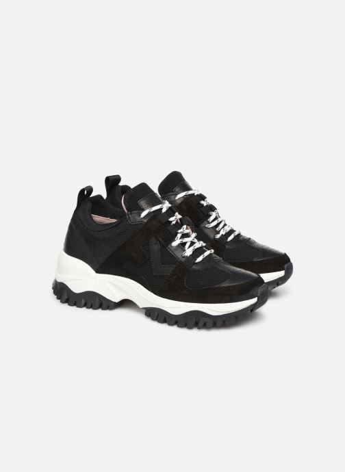 Sneakers Essentiel Antwerp Trespasser2 Nero immagine 3/4