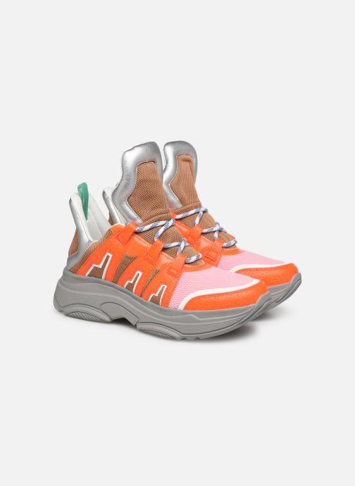 Trainers Essentiel Antwerp Taconafide Sneakers Orange 3/4 view