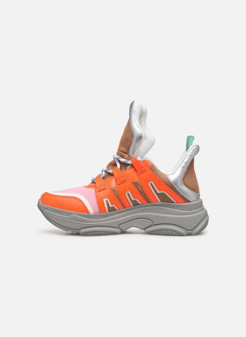 Baskets Essentiel Antwerp Taconafide Sneakers Orange vue face