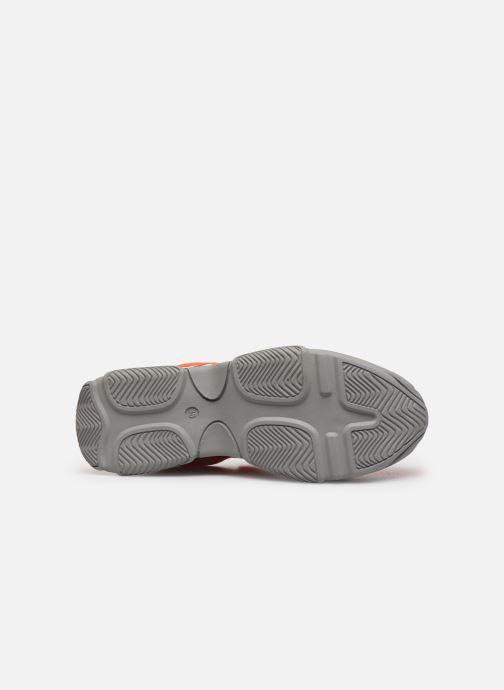 Baskets Essentiel Antwerp Taconafide Sneakers Orange vue haut