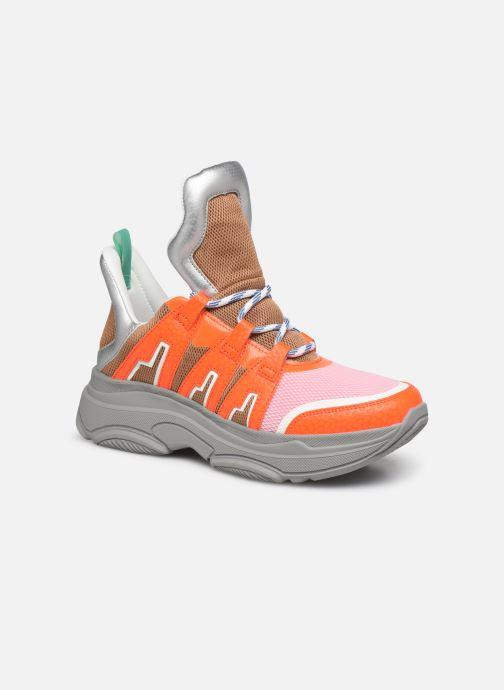 Trainers Essentiel Antwerp Taconafide Sneakers Orange detailed view/ Pair view