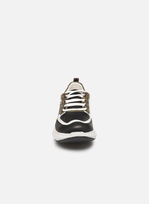 Baskets Clergerie Sea Vert vue portées chaussures