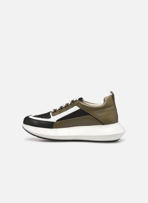 Sneakers Clergerie Sea Verde immagine frontale