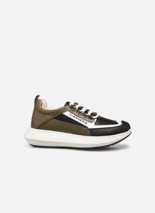 Sneakers Clergerie Sea Verde immagine posteriore