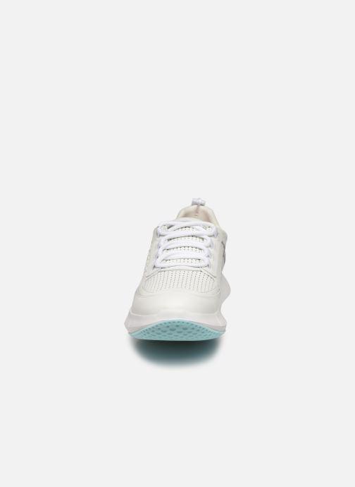 Baskets Clergerie Sea Blanc vue portées chaussures